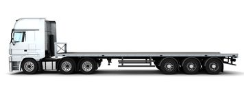 Cargo Delivery Vehicle Royalty Free Stock Photo