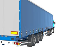 Cargo Delivery Vehicle Royalty Free Stock Image