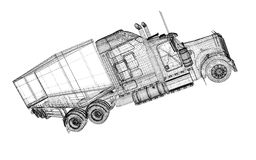 Cargo Delivery Vehicle Stock Images