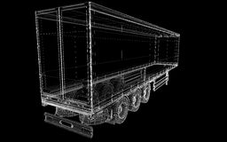 Cargo Delivery Vehicle Stock Photos