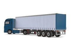 Cargo delivery vehicle truck back Stock Photography