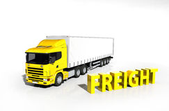 Cargo Delivery Vehicle Stock Photography