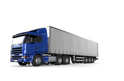 Cargo Delivery Vehicle Royalty Free Stock Images