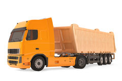 Cargo delivery vehicle truck. See my other works in portfolio Royalty Free Stock Photos