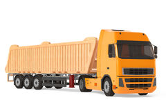 Cargo delivery vehicle truck. Royalty Free Stock Images