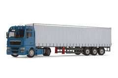Cargo delivery vehicle truck. See my other works in portfolio Royalty Free Stock Photography