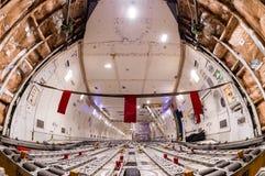 Cargo delle merci aviotrasportate fotografia stock libera da diritti