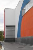 Cargo door stock image