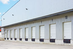 Cargo doors Royalty Free Stock Image