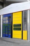 Cargo doors Stock Image