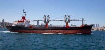 Cargo en mer images libres de droits