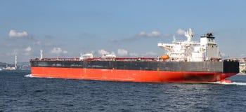 Cargo en mer photo stock