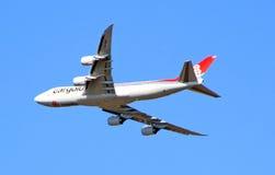 Cargo flight Royalty Free Stock Image