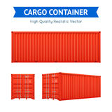 Cargo Freight Container Royalty Free Stock Photos
