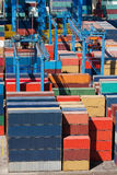 Cargo freight containers Royalty Free Stock Photo