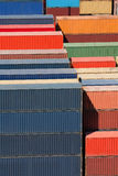 Cargo freight containers Stock Images