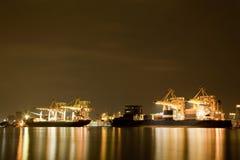 Cargo freight ship Royalty Free Stock Photos