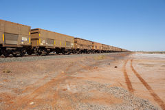 Cargo Freight Train Stock Image