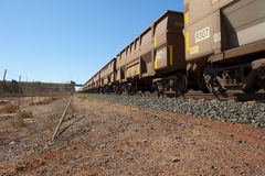 Cargo Freight Train Royalty Free Stock Photos
