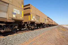 Cargo Freight Train Royalty Free Stock Photography