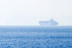 Cargo freighter Royalty Free Stock Image
