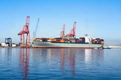 Cargo freighter Royalty Free Stock Photography