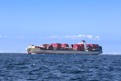 Cargo freighter Royalty Free Stock Photos