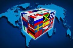 Cargo global ilustración del vector