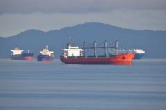 Cargo global de cargaison d'effort photographie stock libre de droits