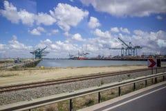 Cargo harbor Royalty Free Stock Photos