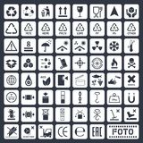 Cargo icons set Royalty Free Stock Image