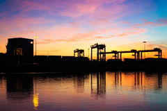 Cargo Industrial Royalty Free Stock Images
