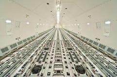 Cargo interno delle merci aviotrasportate fotografia stock libera da diritti