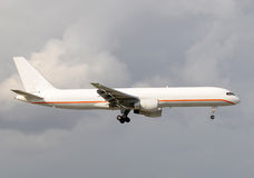 Cargo jet airplane Stock Images
