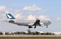 Free Cargo Jet Landing At Miami International Stock Photography - 18996632
