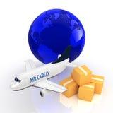 Cargo jet Stock Image