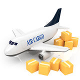 Cargo jet Royalty Free Stock Image