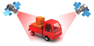 Cargo location Royalty Free Stock Photos
