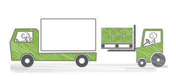 Cargo, Logistics Stock Image