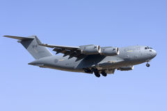 Cargo Military Canadian airplane stock photography