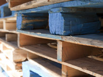 Cargo Palettes Royalty Free Stock Image