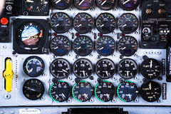 Cargo plane indicators. Royalty Free Stock Photos