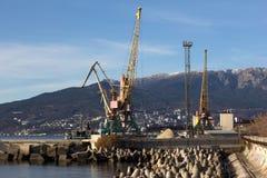 Cargo port Stock Photography