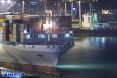 Cargo port royalty free stock photos