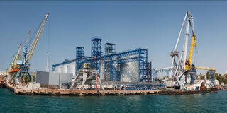 Cargo port Royalty Free Stock Photo