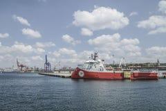 Cargo Port of Istanbul in Turkey. Stock Image
