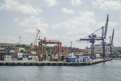 Cargo Port of Istanbul in Turkey. Stock Photography