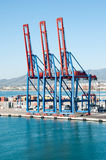 Cargo port Royalty Free Stock Photo
