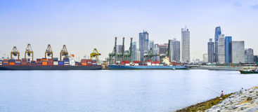 Cargo Port Stock Photography