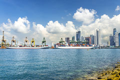 Cargo Port Royalty Free Stock Images
